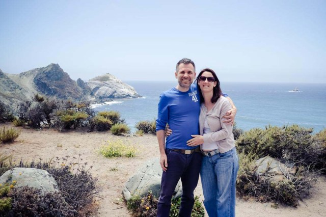 Stopping on the Big Sur for photo ops
