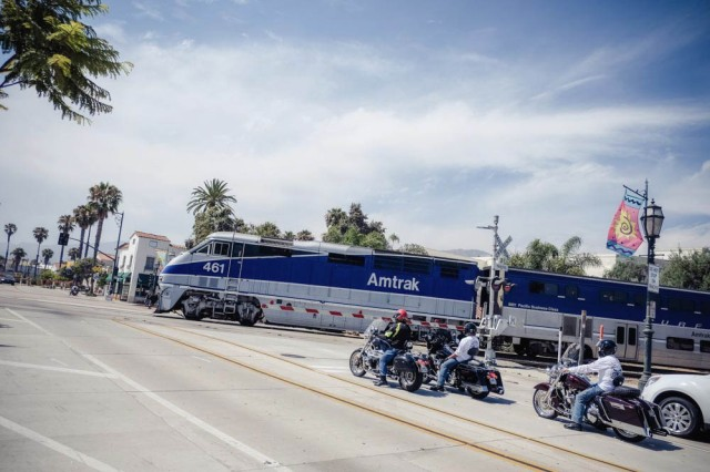 Santa Barbara - Amtrak Train