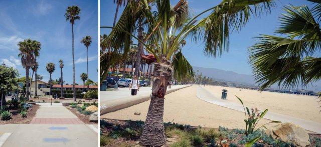 Santa Barbara sea front