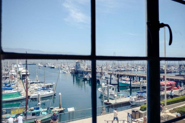 Santa Barbara Bar - View from Window