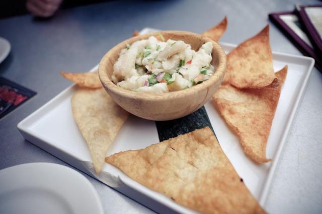 Hula's Island Grill - ceviche