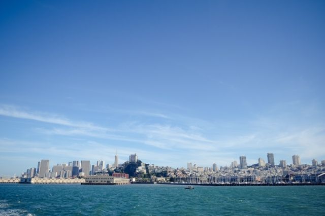 Leaving for Alcatraz