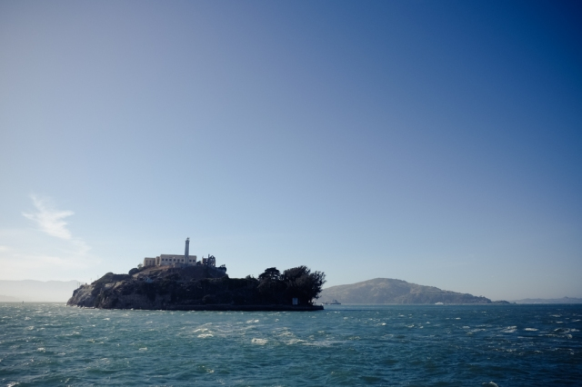 Almost at Alcatraz