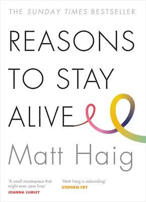 Reasons to Stay Alive - Book Cover