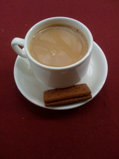 Tea and a biscuit