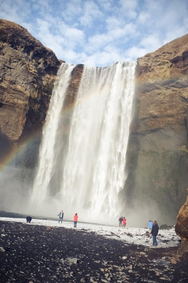 Skógafoss - rainbow