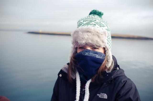 Leaving Reykjavík Old Harbour - cold