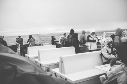 Leaving Reykjavík Old Harbour