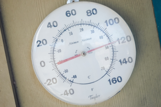 Death Valley Temperature Gauge