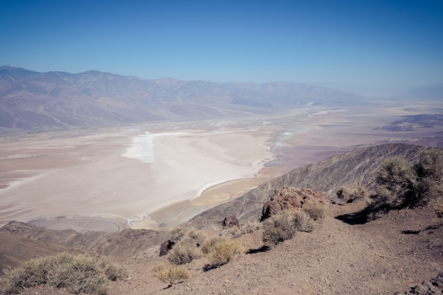Dantes View and Badwater Basin