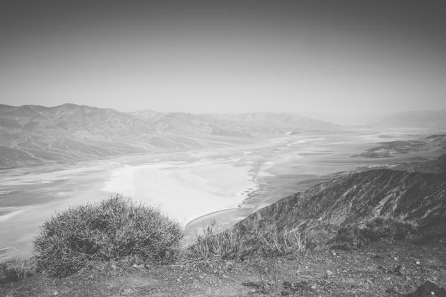 Dante's View Mono Photo