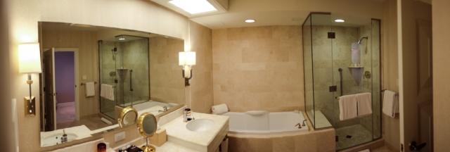 Vegas Bathroom View - The Wynne