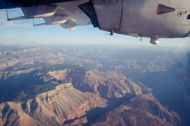 Grand Canyon - Vision Airlines flight back