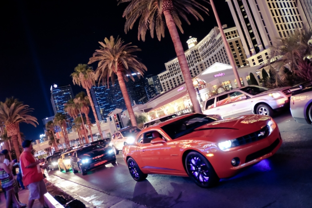 Vegas strip car