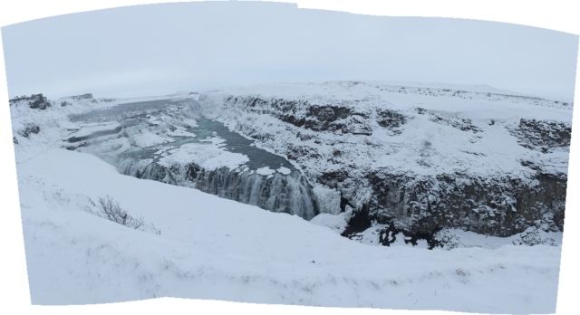 Gullfoss Panoramic